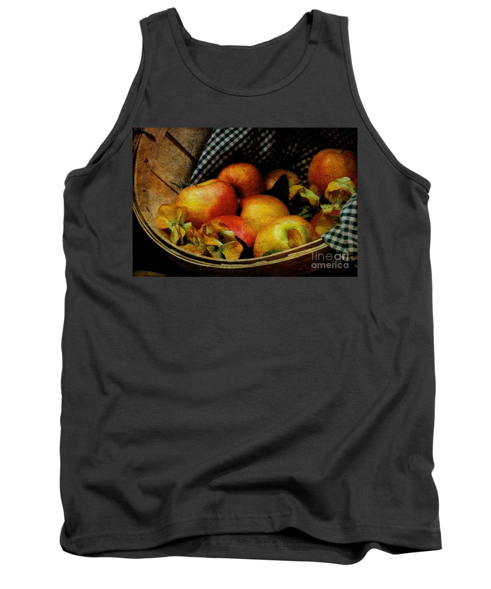 Halloween Tank Top featuring the photograph Autumn Harvest by Lois Bryan