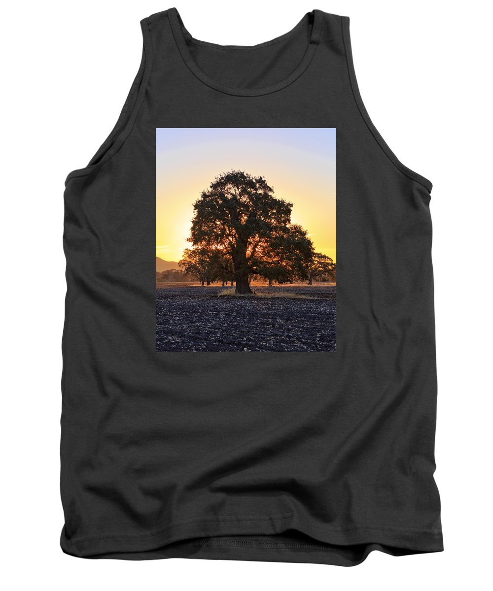 Patricia Sanders Tank Top featuring the photograph Autumn Sunrise by Her Arts Desire