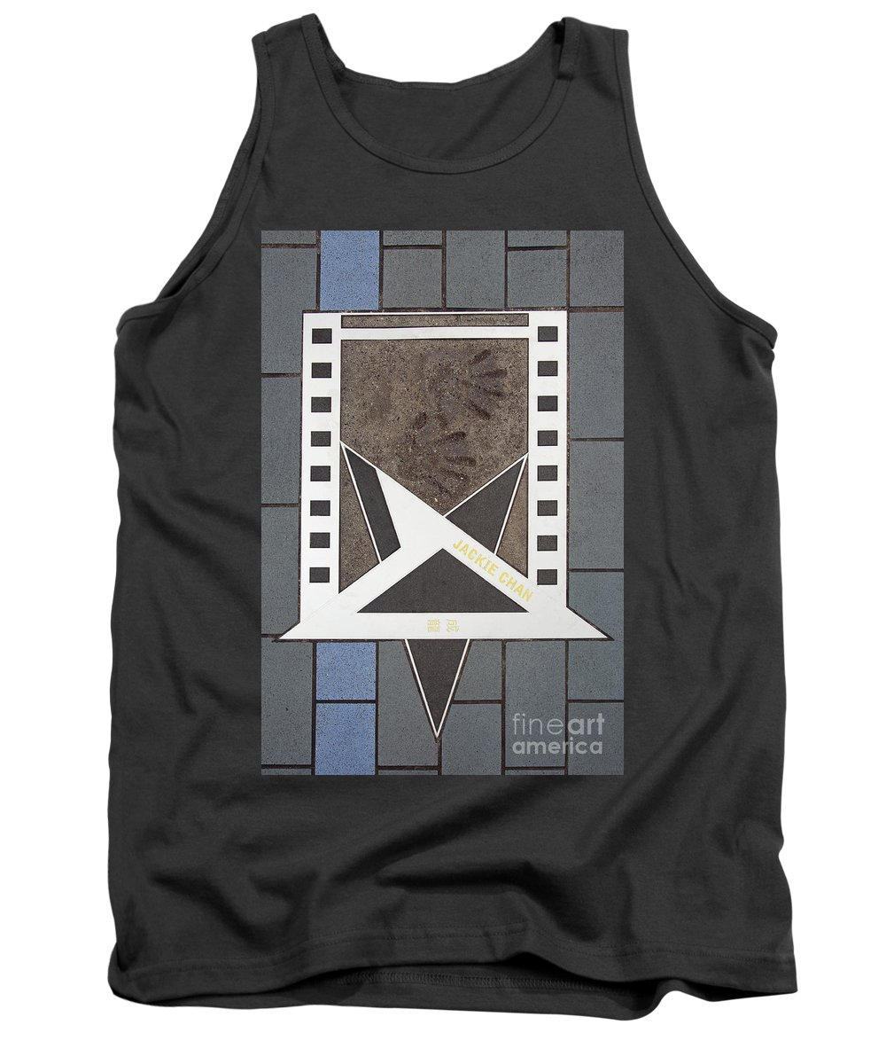 Actor Tank Top featuring the photograph Avenue Of Stars In Hong Kong by David Davis