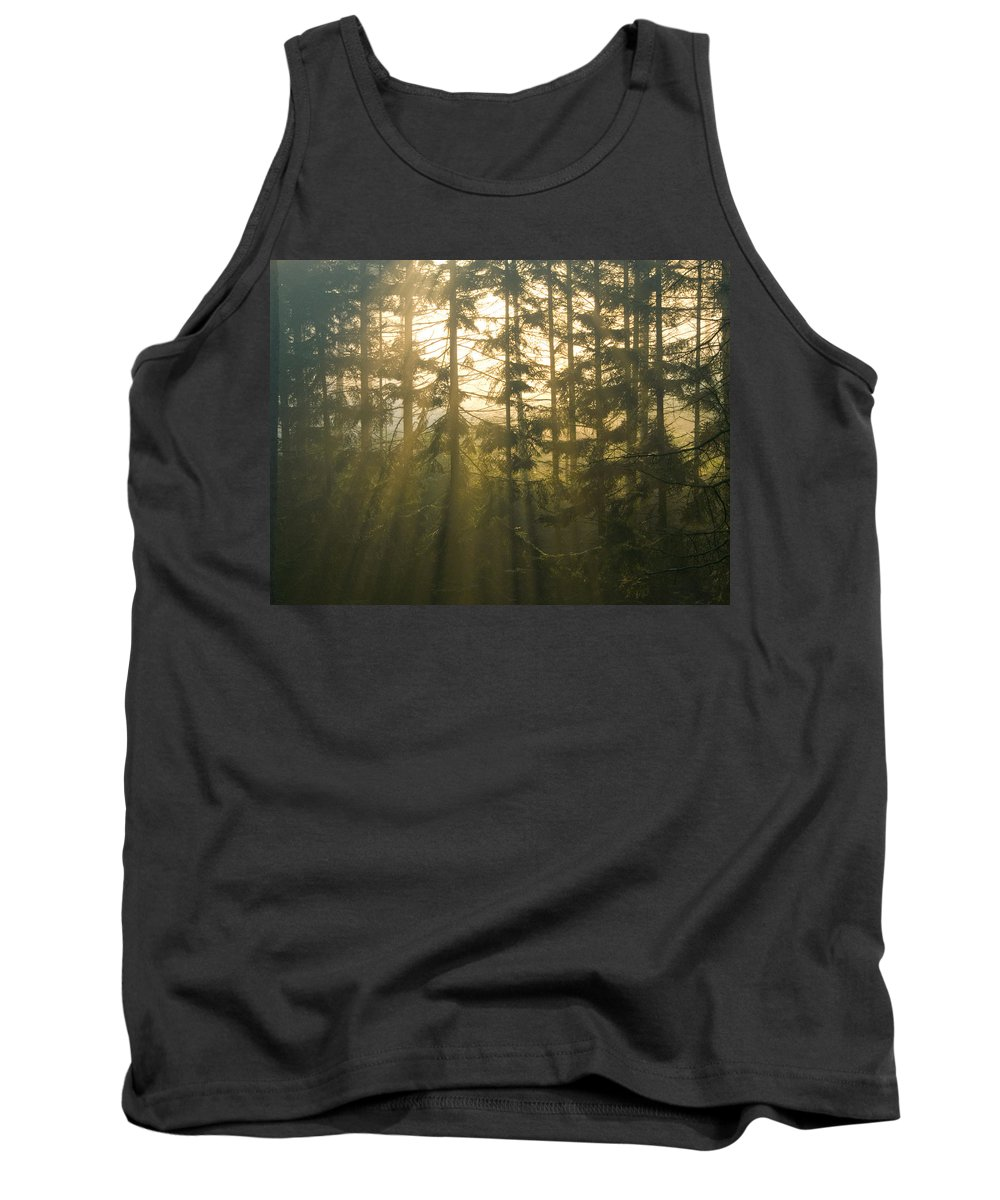 Light Tank Top featuring the photograph Awe by Daniel Csoka