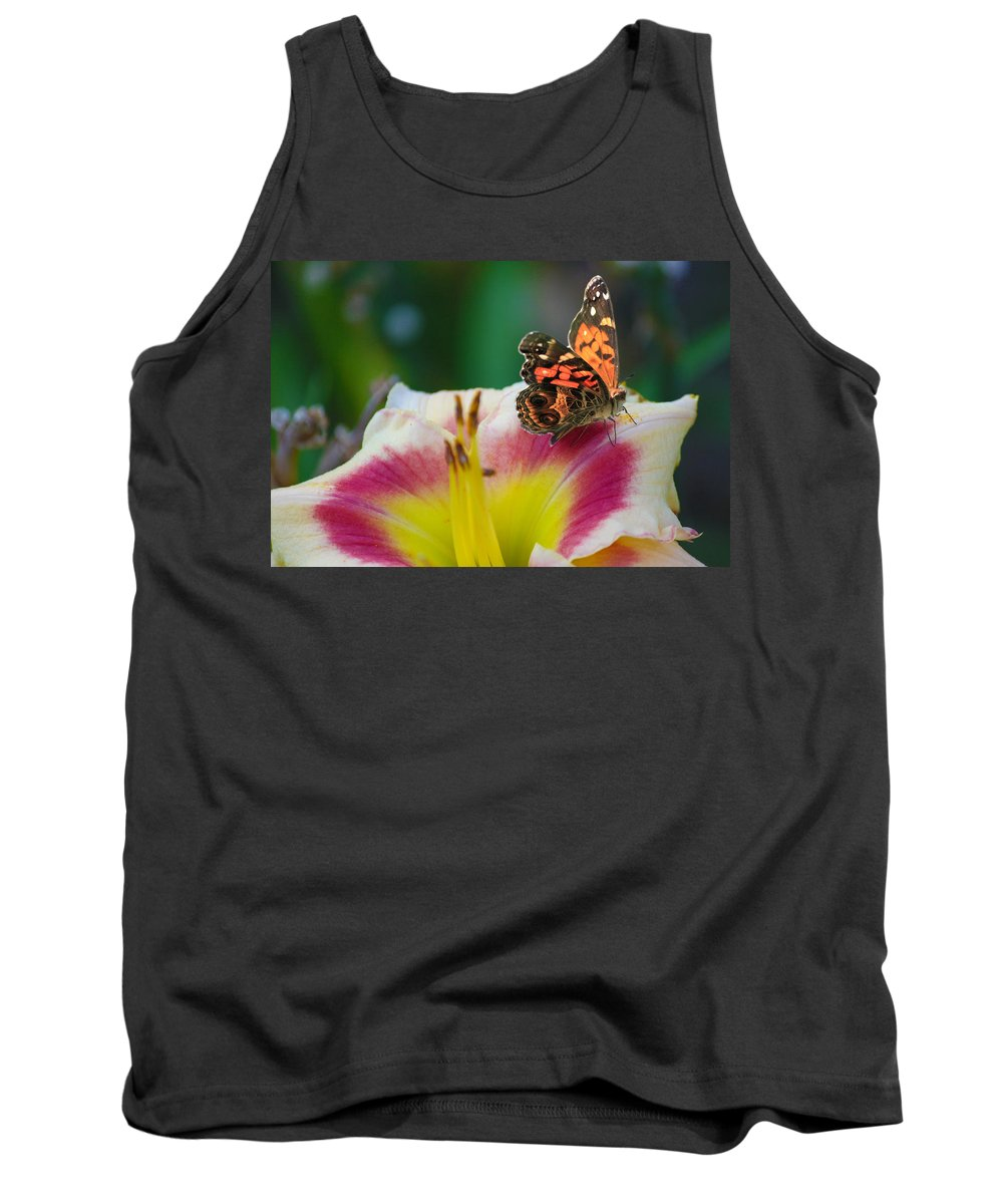 Flowers Tank Top featuring the photograph B22224 by Steve Herndon