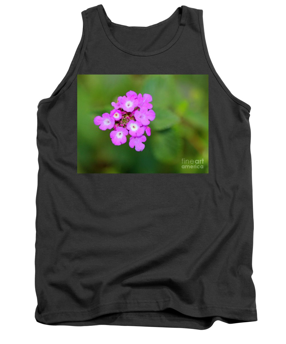Simple Tank Top featuring the photograph Flower - Baby In Pink by Kip Krause