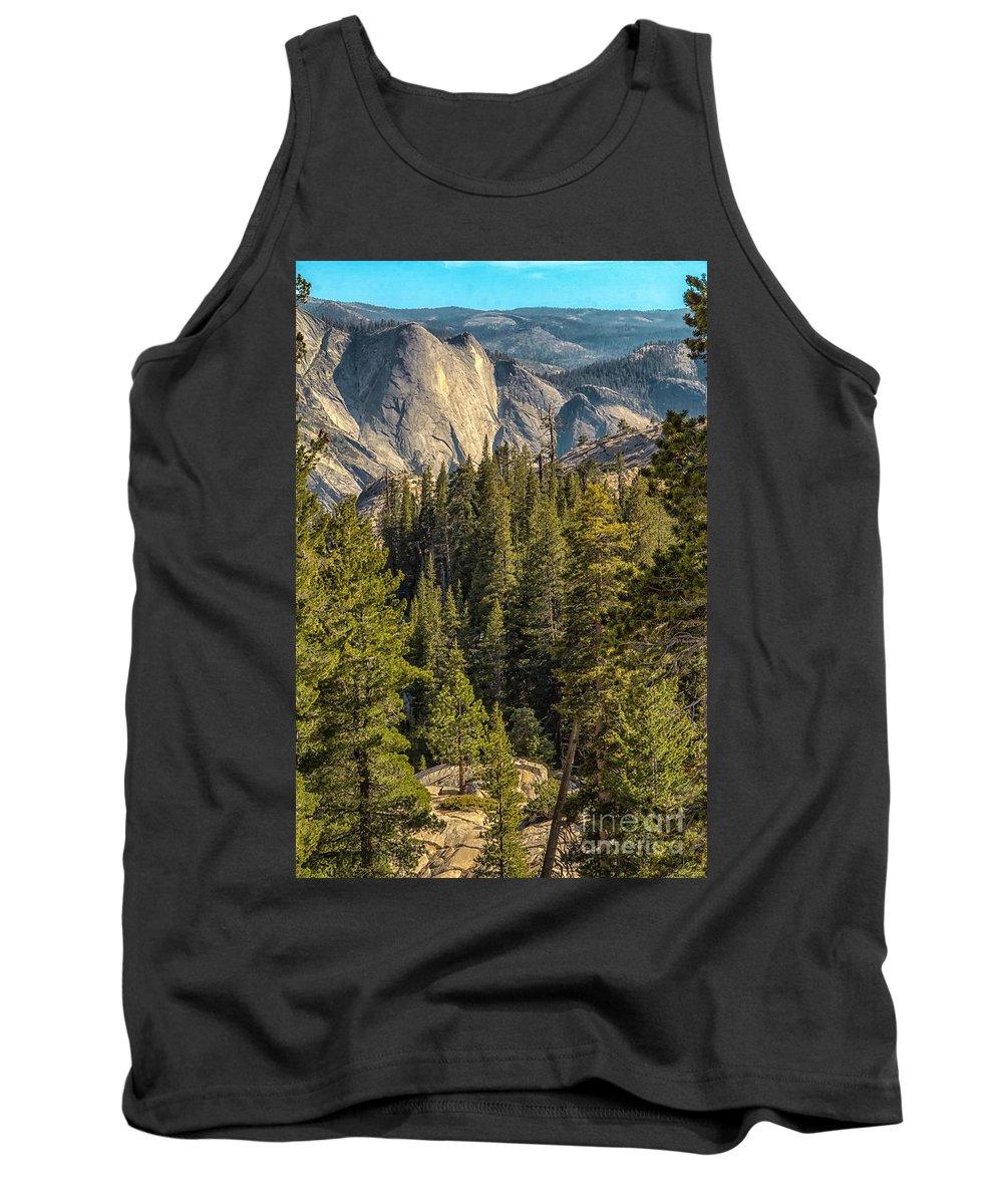 Yosemite Tank Top featuring the photograph Backroads Of Yosemite by Michael J Samuels