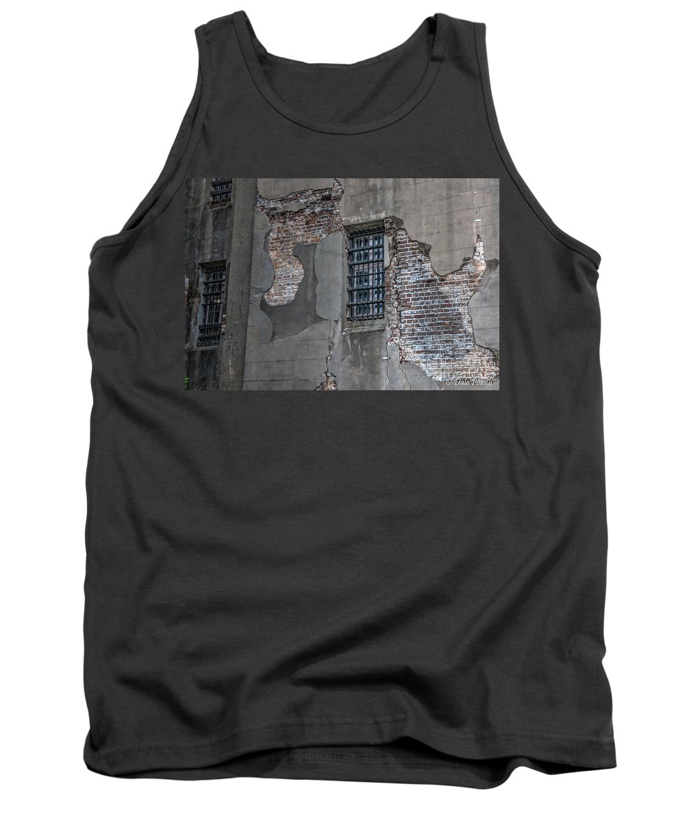 Old City Jail Tank Top featuring the photograph Bars On The Windows by Dale Powell