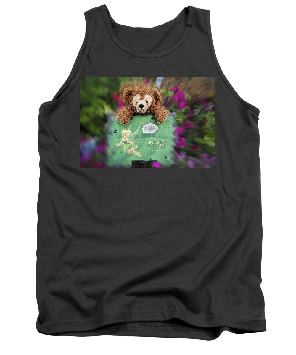Fantasy Tank Top featuring the photograph Bear And His Girl by Thomas Woolworth