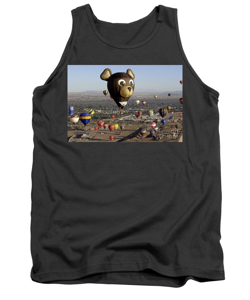 Albuquerque Tank Top featuring the photograph Bear by Mary Rogers