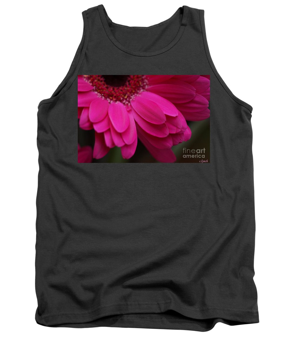 Pink Tank Top featuring the photograph Beautiful Petals by Carol Lynch