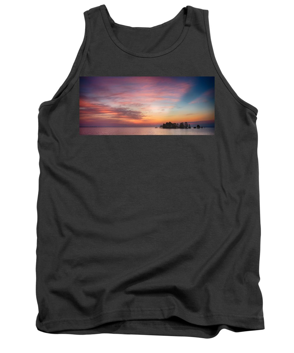 February Tank Top featuring the photograph Beautiful Sunrise by Cindy Archbell