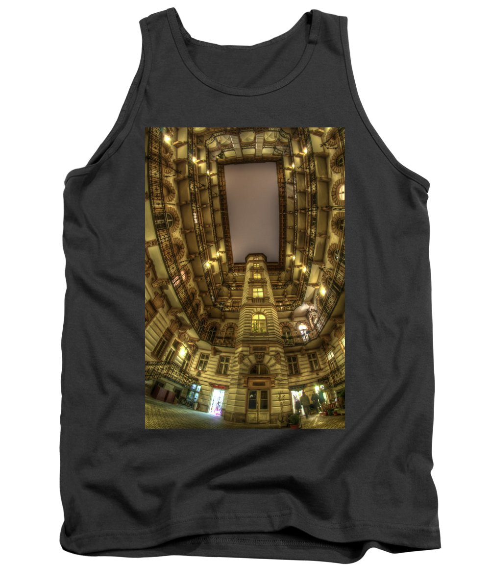 Travel Tank Top featuring the digital art Beauty From Within The Other Side by Nathan Wright