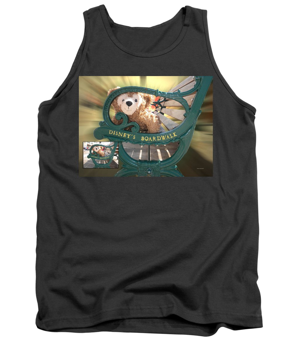 Fantasy Tank Top featuring the photograph Before And After Sample Art 19 by Thomas Woolworth