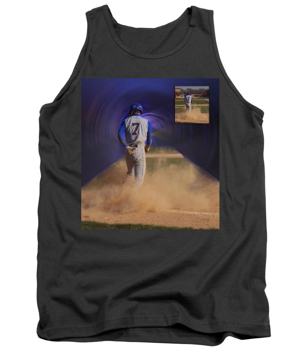 Sports Tank Top featuring the photograph Before And After Sample Art 24 by Thomas Woolworth
