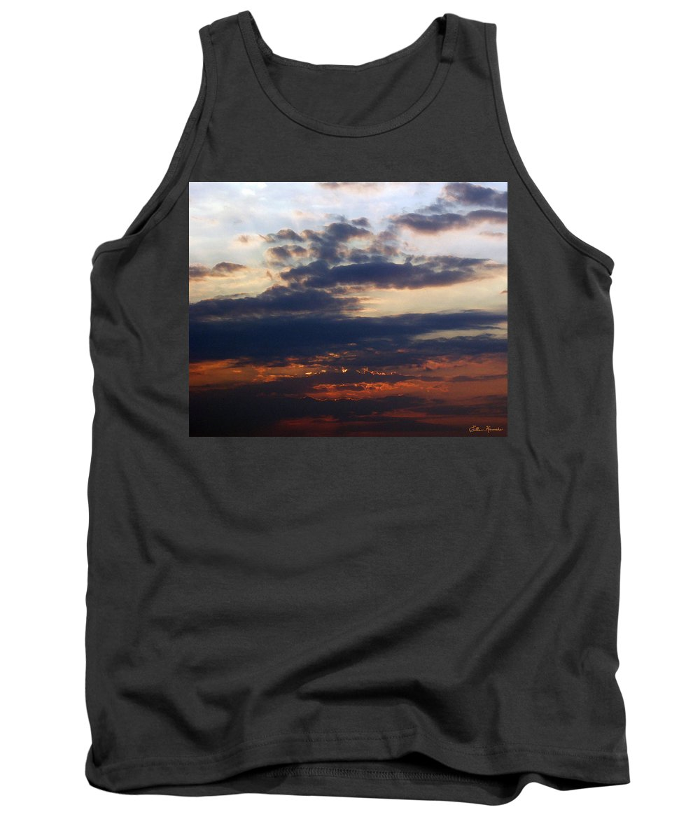 Behold The Dawn Tank Top featuring the painting Behold The Dawn by Ellen Henneke