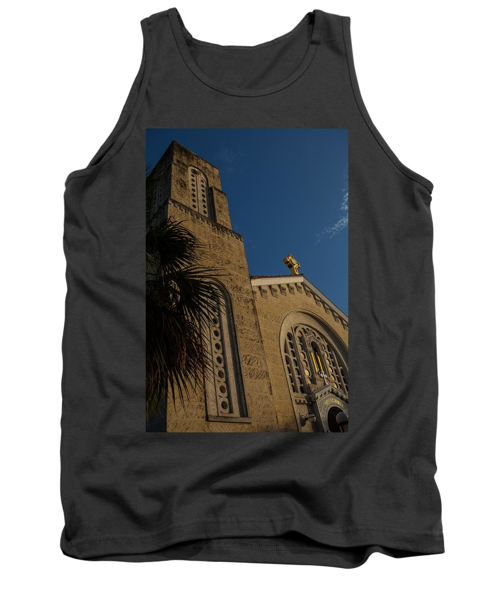 1948 Tank Top featuring the photograph Bell Tower At St Sophia by Ed Gleichman
