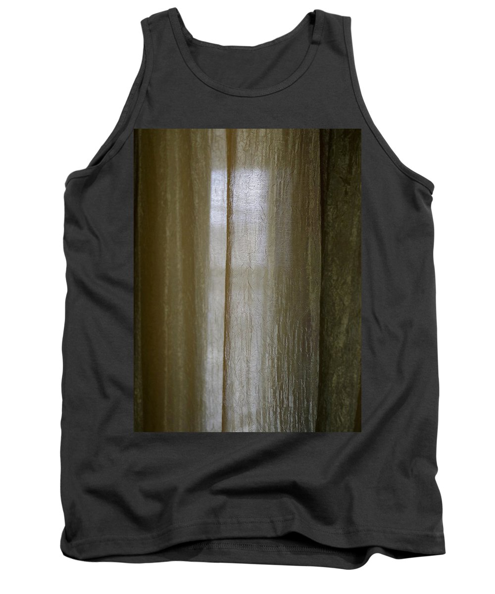 Tank Top featuring the photograph Beyond The Curtain by Joseph Hedaya