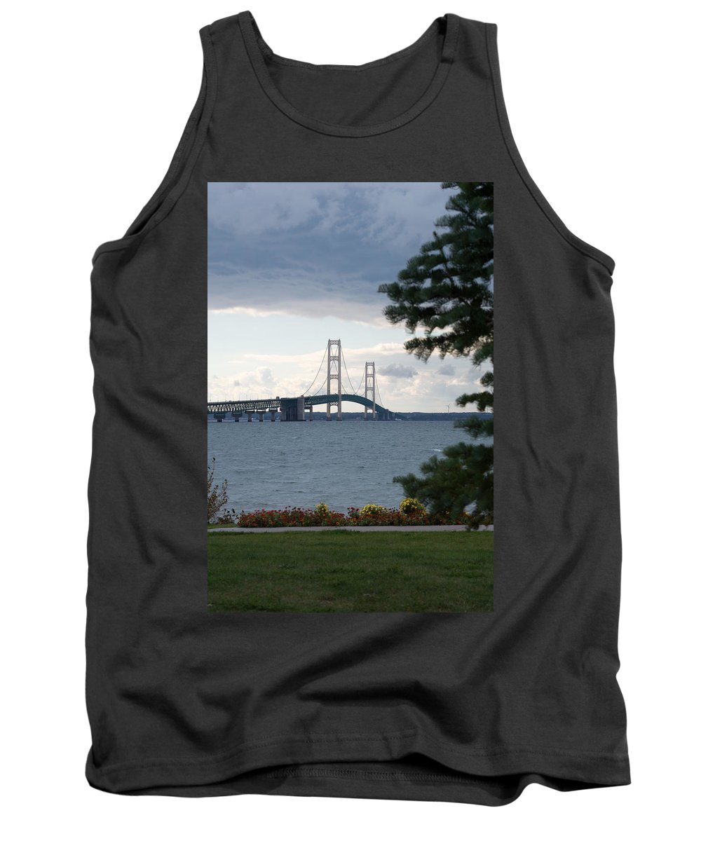 Clouds Tank Top featuring the photograph Beyond The Tree by Linda Kerkau