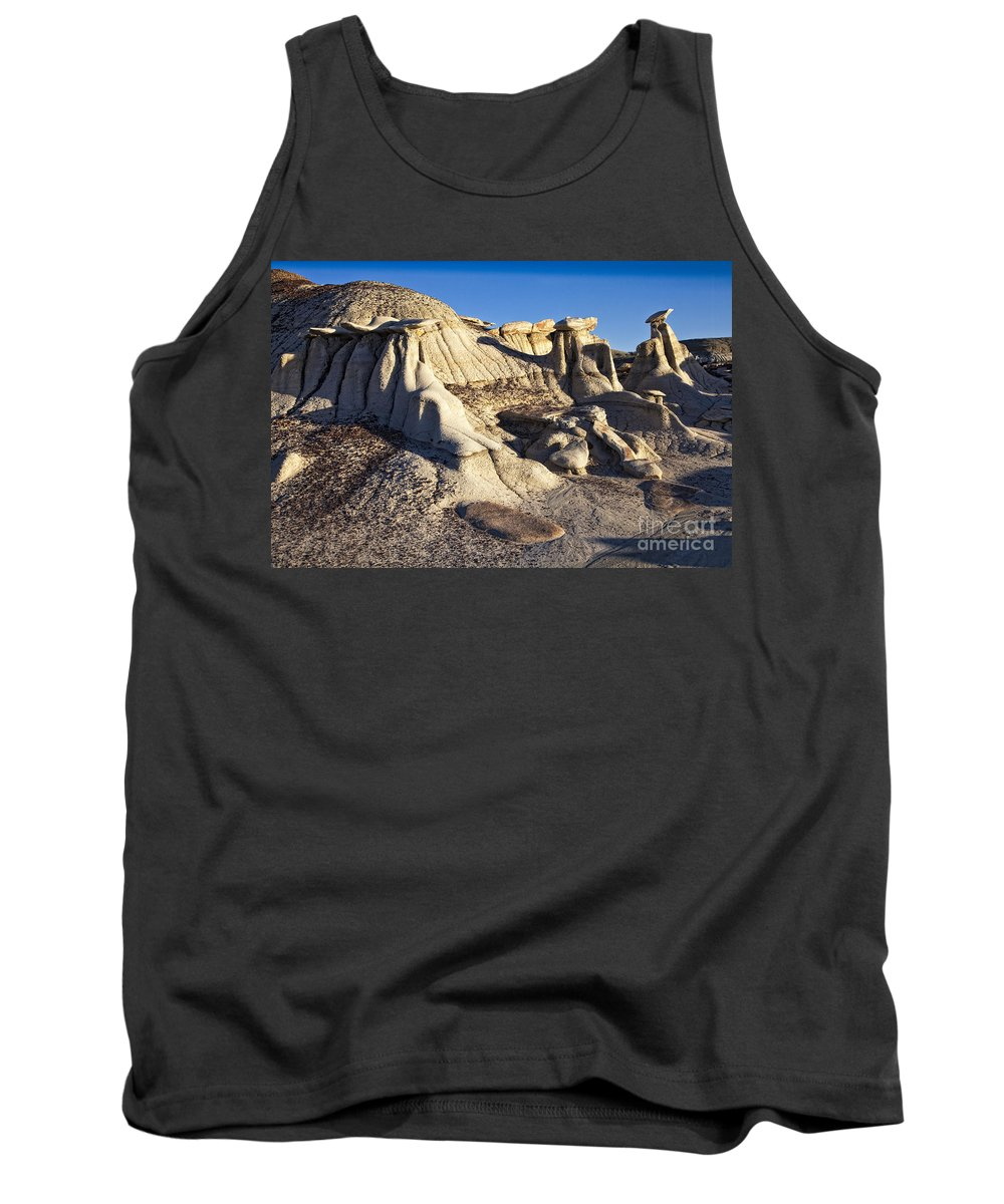 Bisti Badlands Tank Top featuring the photograph Bisti Badlands 7 by Timothy Hacker