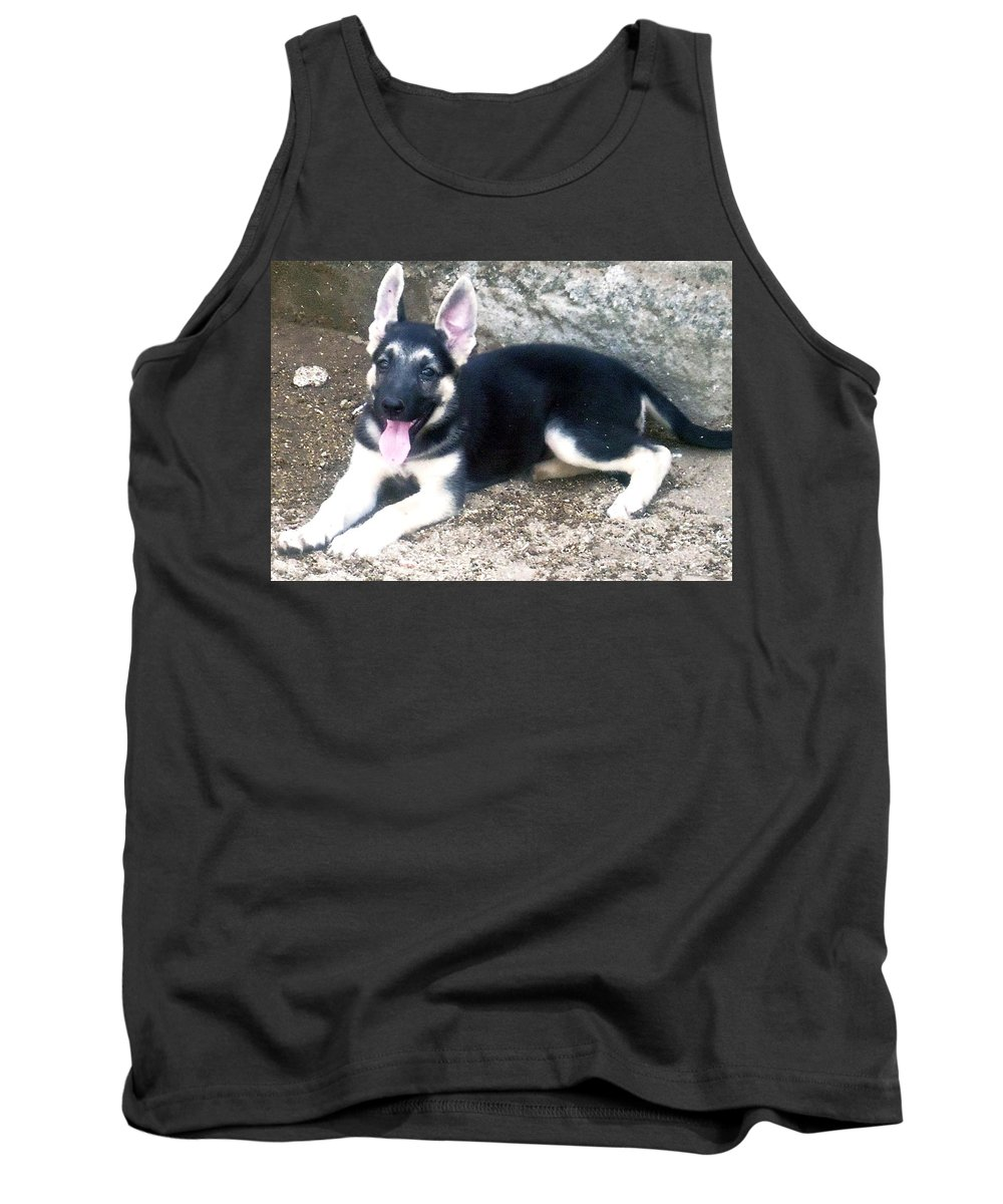 Tank Top featuring the photograph Black by Tuntufye Abel