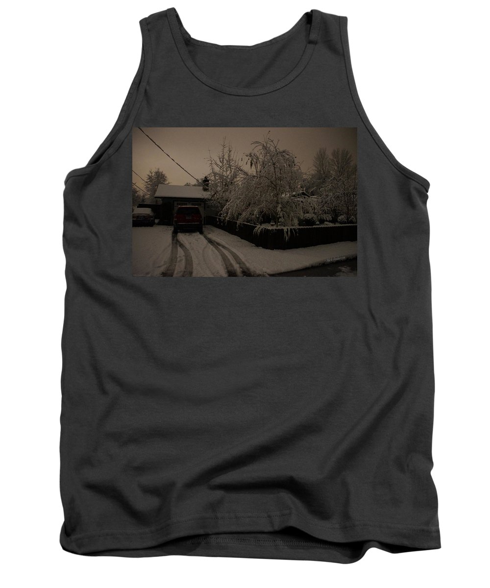 Blackout Tank Top featuring the photograph Blackout At My House by Mick Anderson