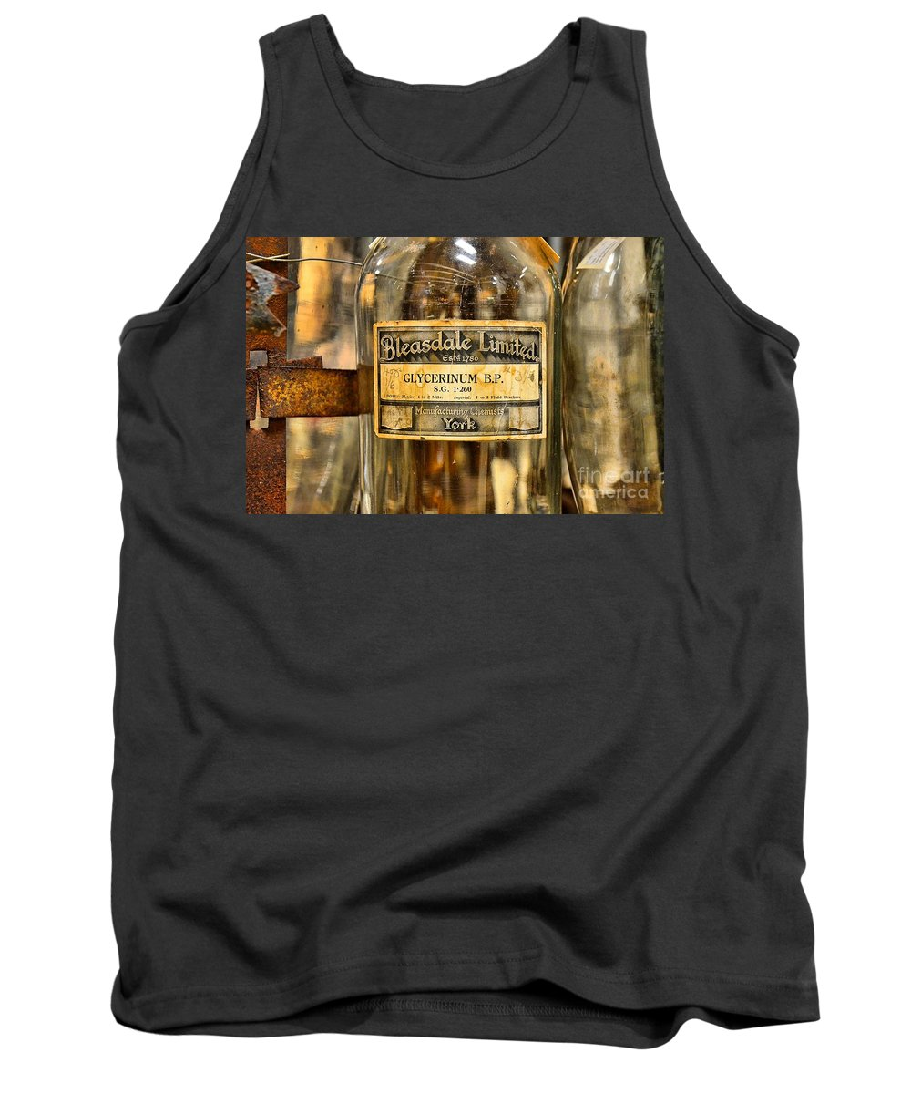 Abstract Tank Top featuring the photograph Bleasdale Limited by Lauren Leigh Hunter Fine Art Photography