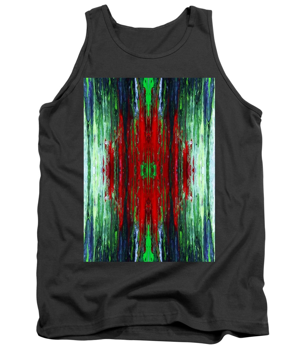 Digital Tank Top featuring the photograph Blood Within by Munir Alawi