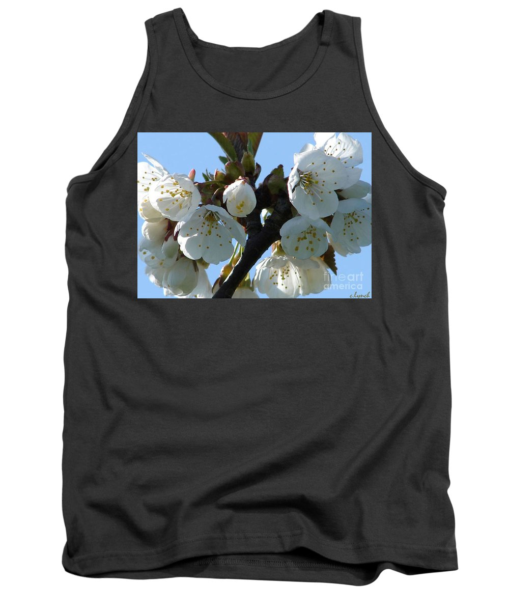 Blossoms Tank Top featuring the photograph Blossoms 3 by Carol Lynch