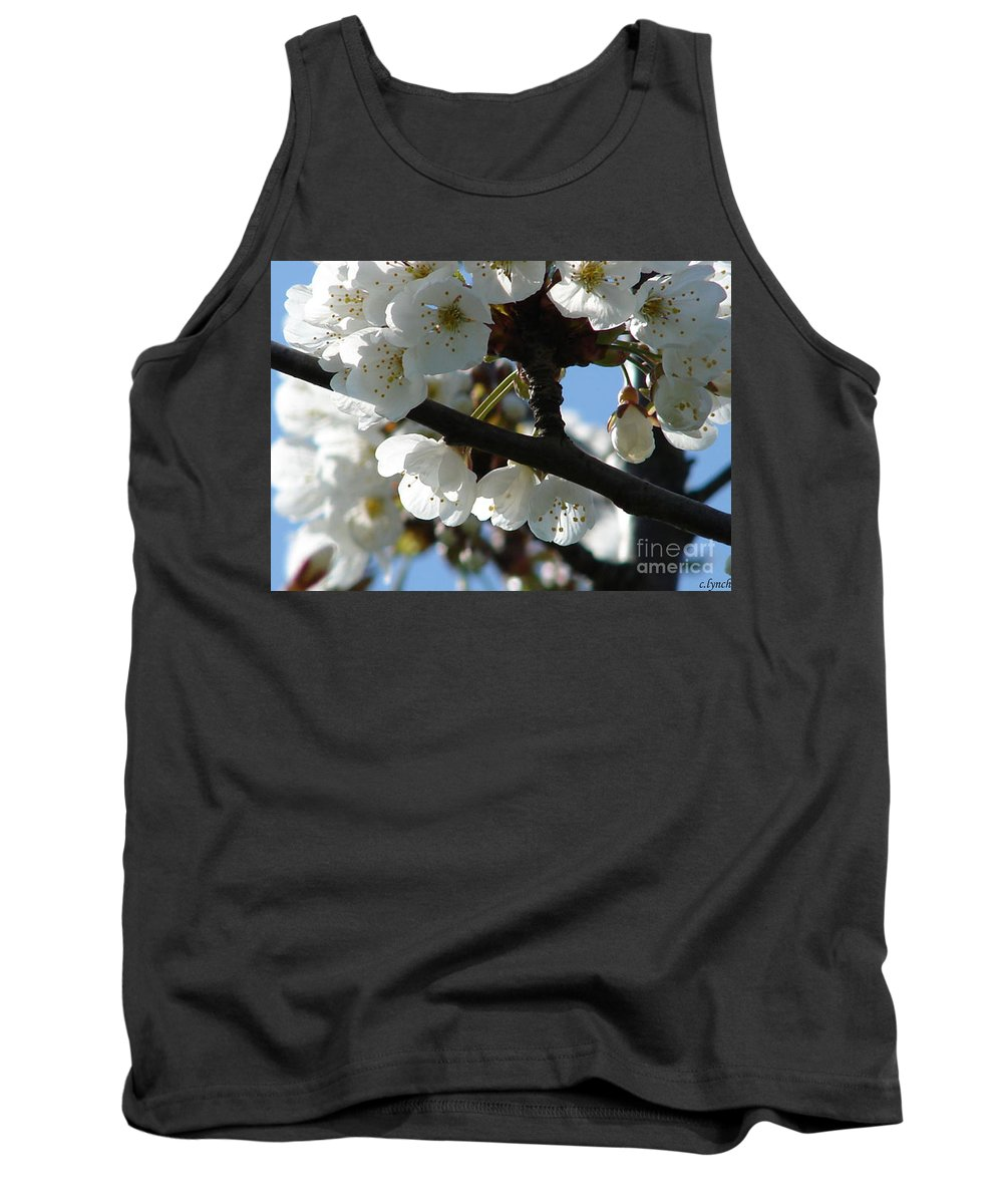 Blossoms Tank Top featuring the photograph Blossoms 4 by Carol Lynch