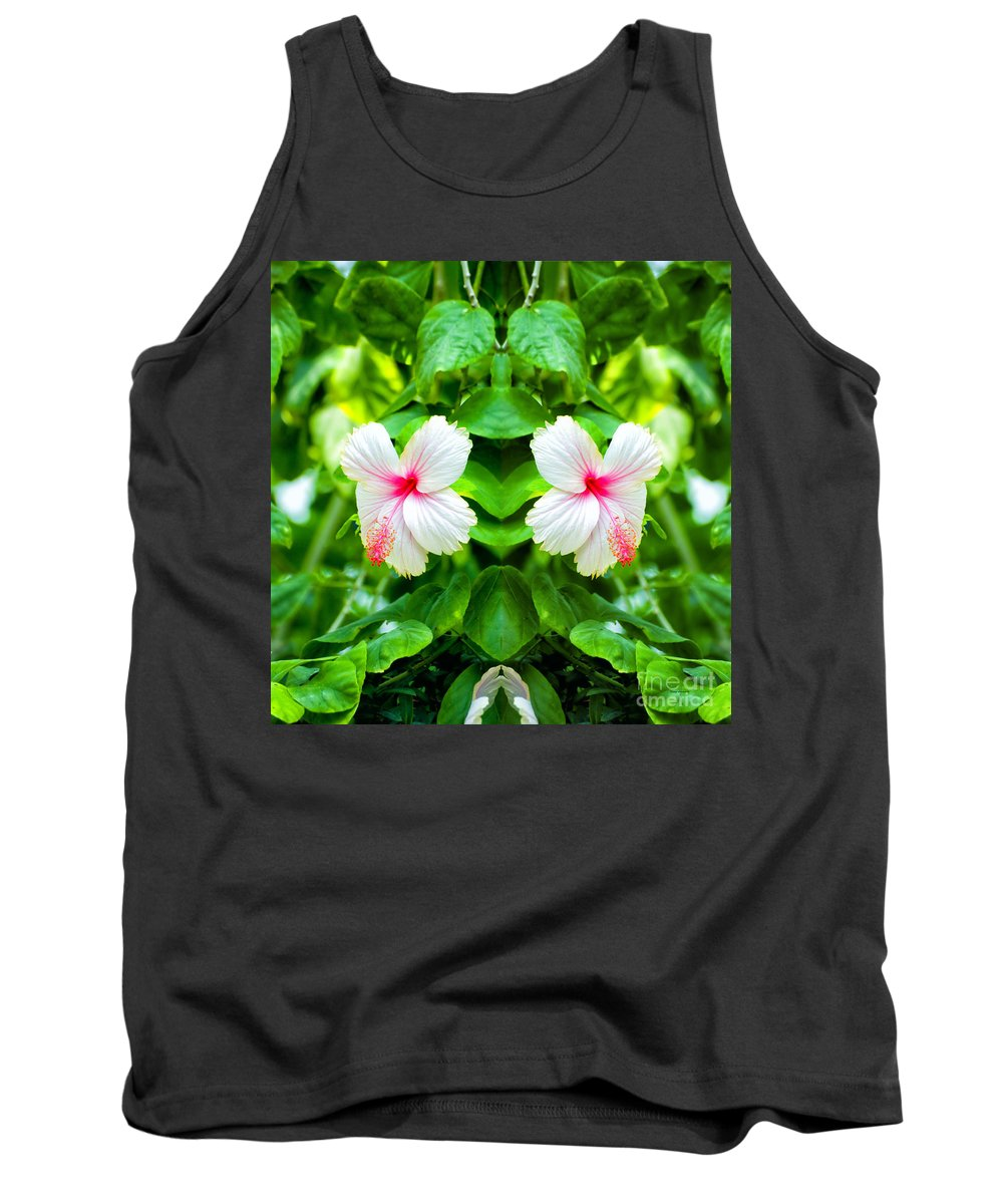 Mirror Image Tank Top featuring the photograph Blowing In The Breeze Mirror Image by Thomas Woolworth