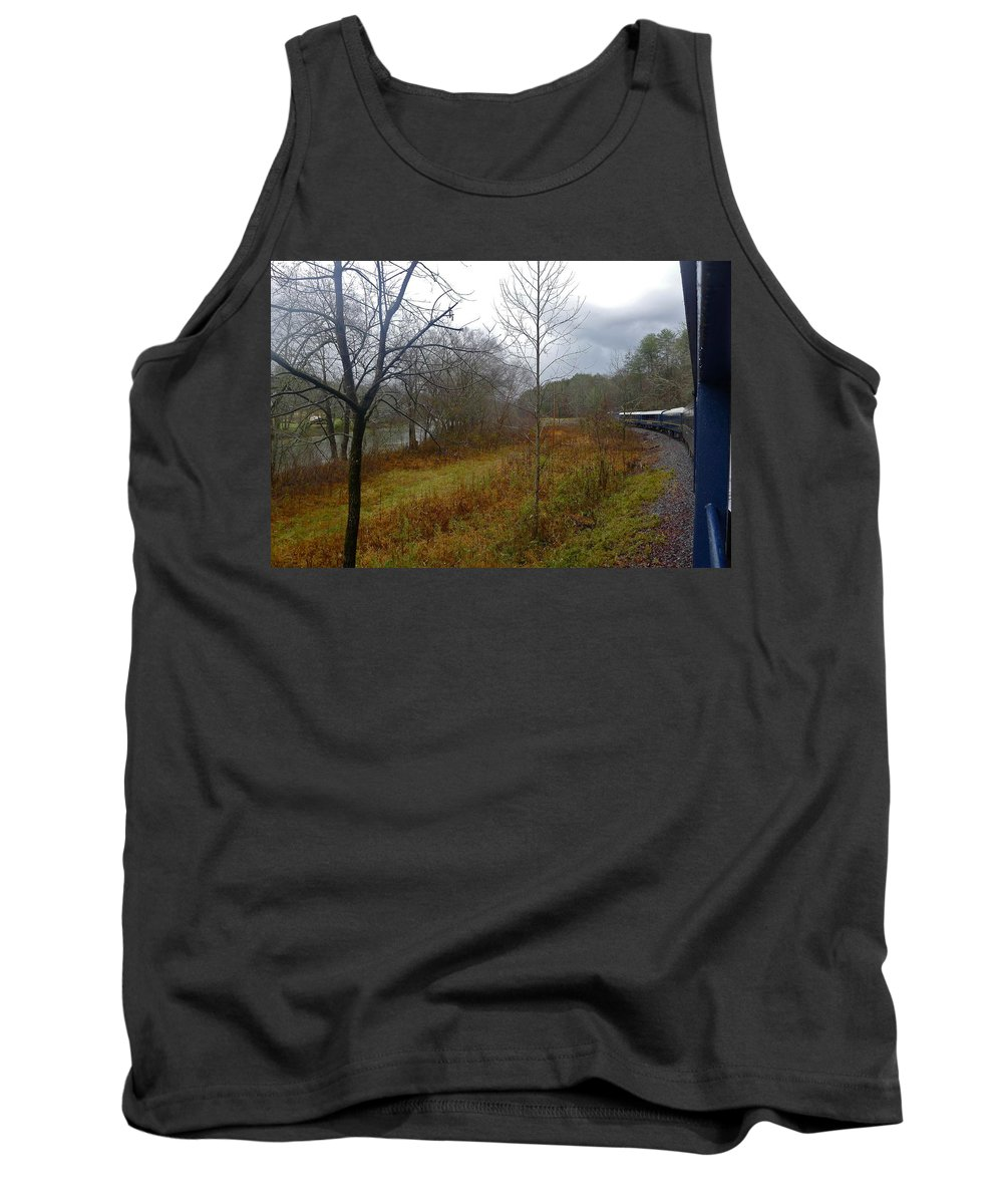 Ocoee River Tank Top featuring the photograph Blue Ridge Beauty by Denise Mazzocco