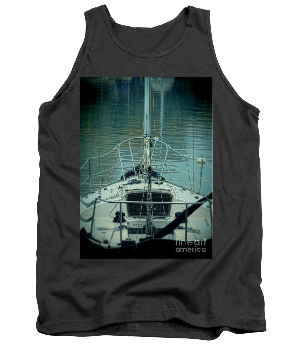 Ship Tank Top featuring the photograph Boat by Jill Battaglia