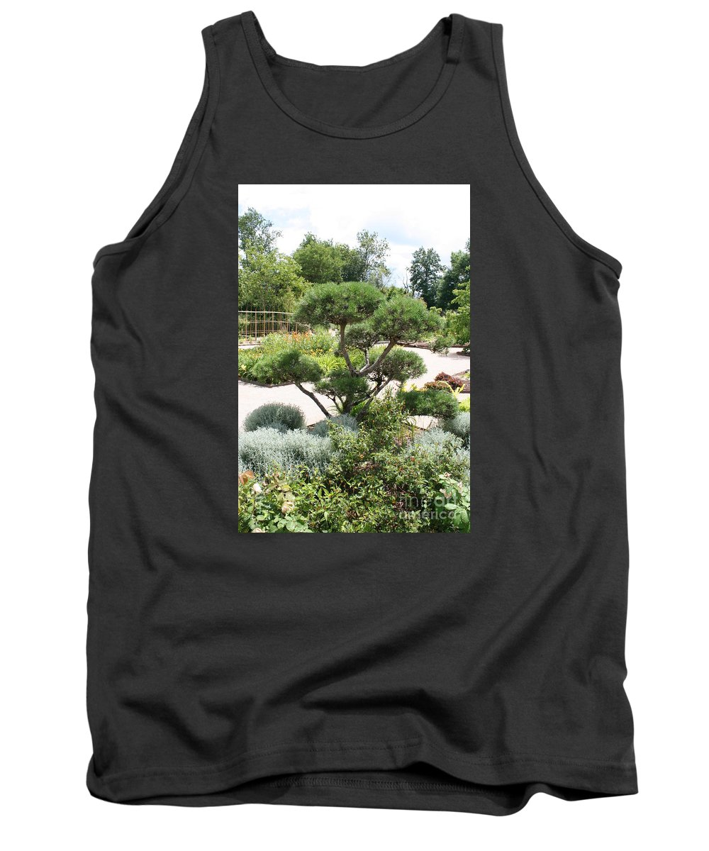 Bonsai Tank Top featuring the photograph Bonsai In The Park by Christiane Schulze Art And Photography