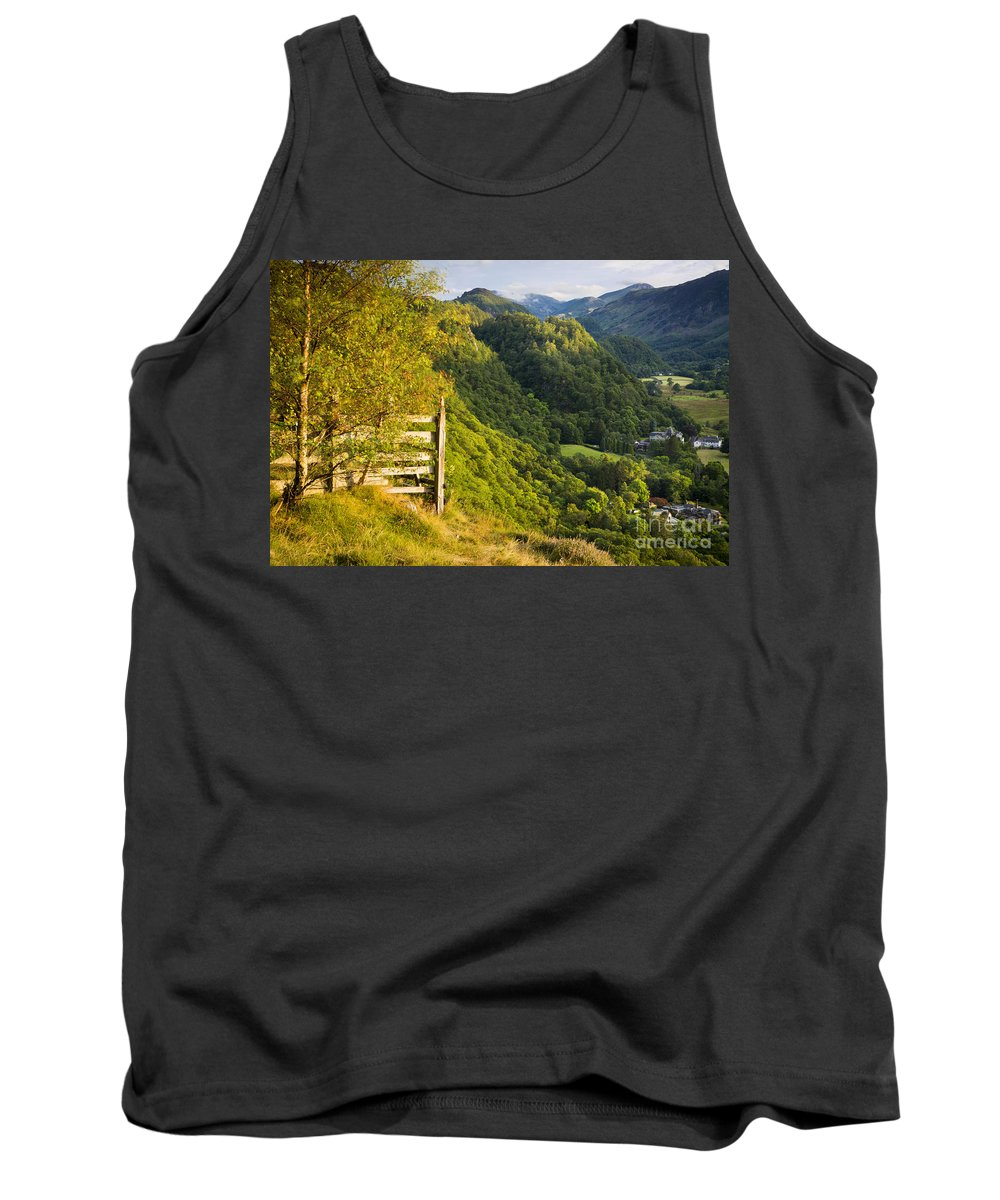 Borrowdale Tank Top featuring the photograph Borrowdale Valley - Lake District by Brian Jannsen