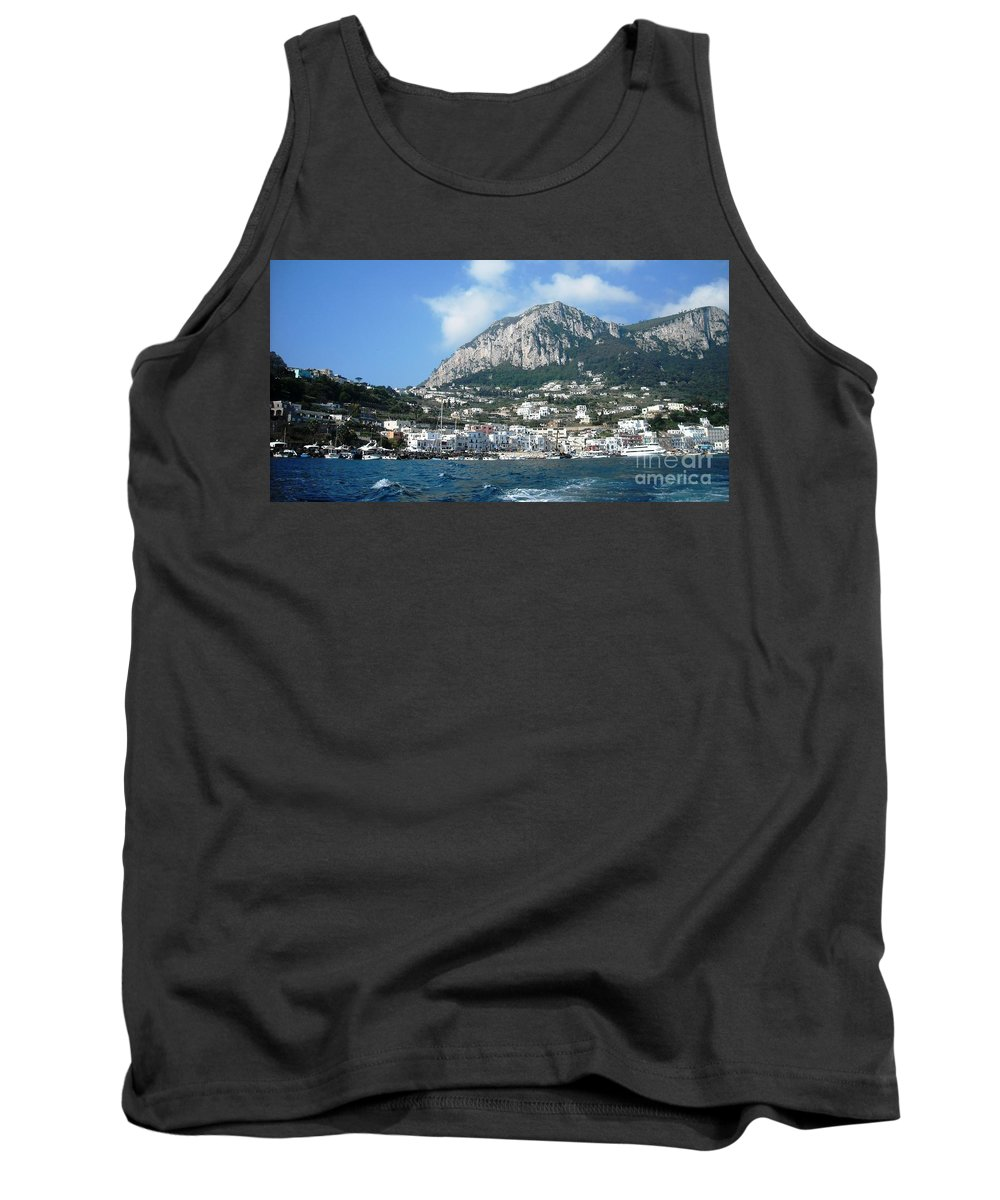 Isle Of Capri Tank Top featuring the photograph Breath Of Paradise by Lisa Kilby