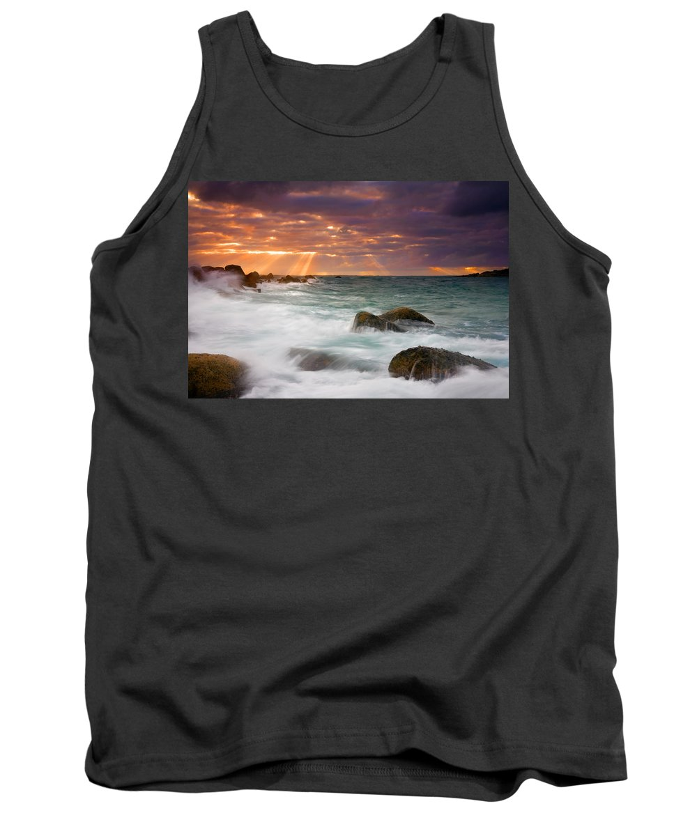 Dawn Tank Top featuring the photograph Breathtaking by Mike Dawson