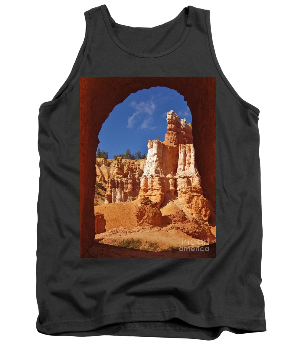 Tunnel Tank Top featuring the photograph Breathtaking View by Tonya Hance