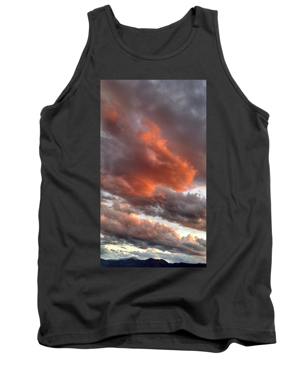 Bronco Sunset Tank Top featuring the photograph Bronco Sunset by Jennifer Forsyth