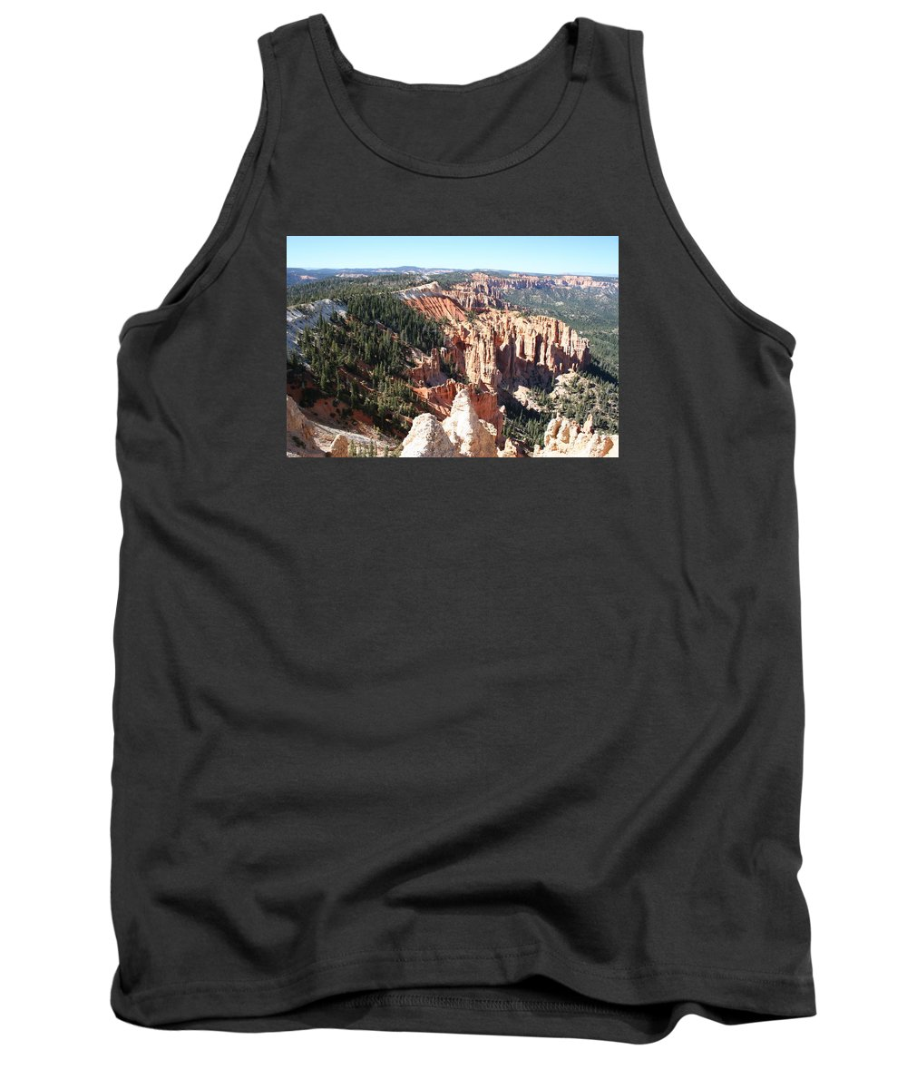 Canyon Tank Top featuring the photograph Bryce Canyon Hoodoos Landscape by Christiane Schulze Art And Photography