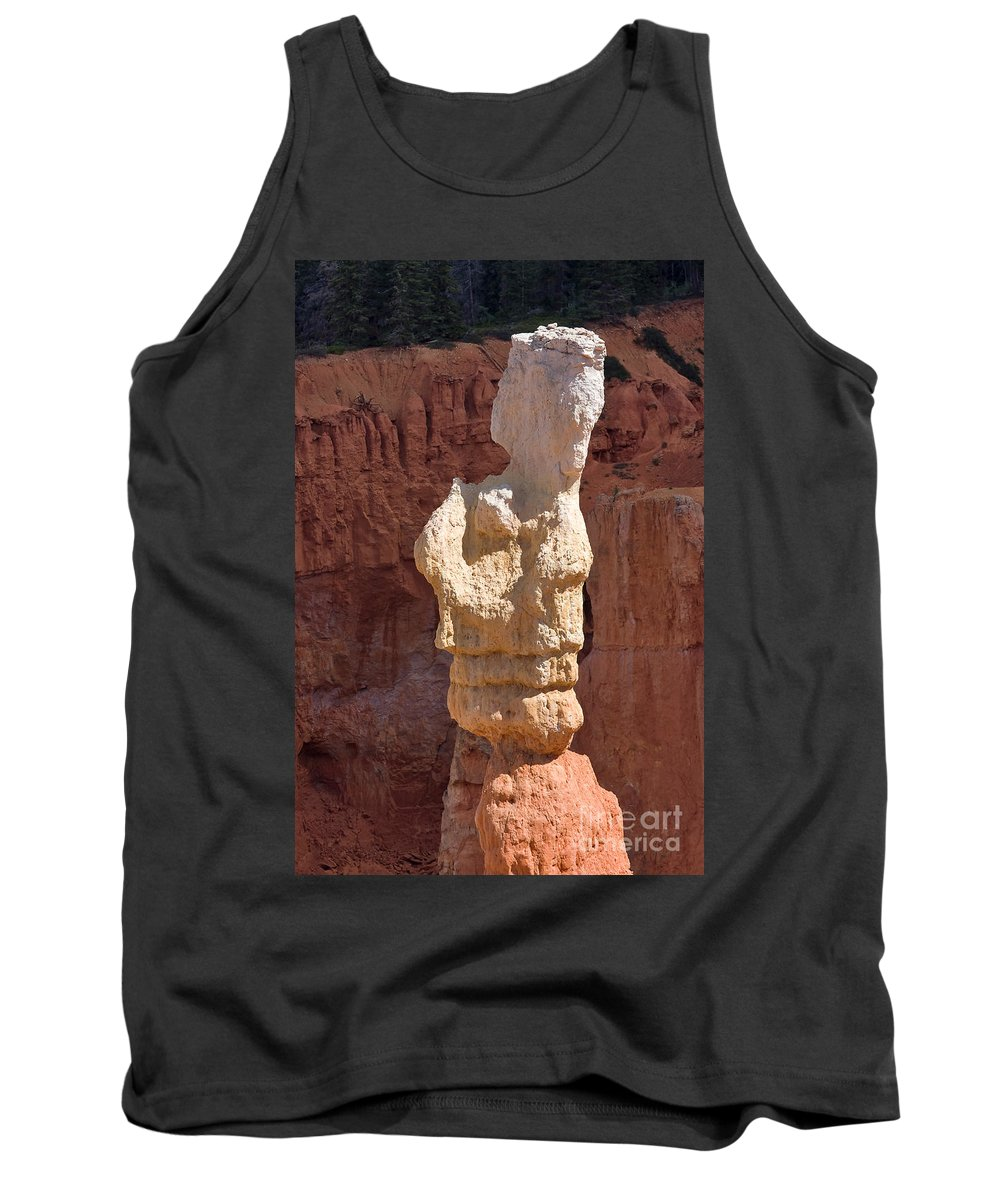 Nature Tank Top featuring the photograph Bryce Canyon Rock Formation by Louise Heusinkveld
