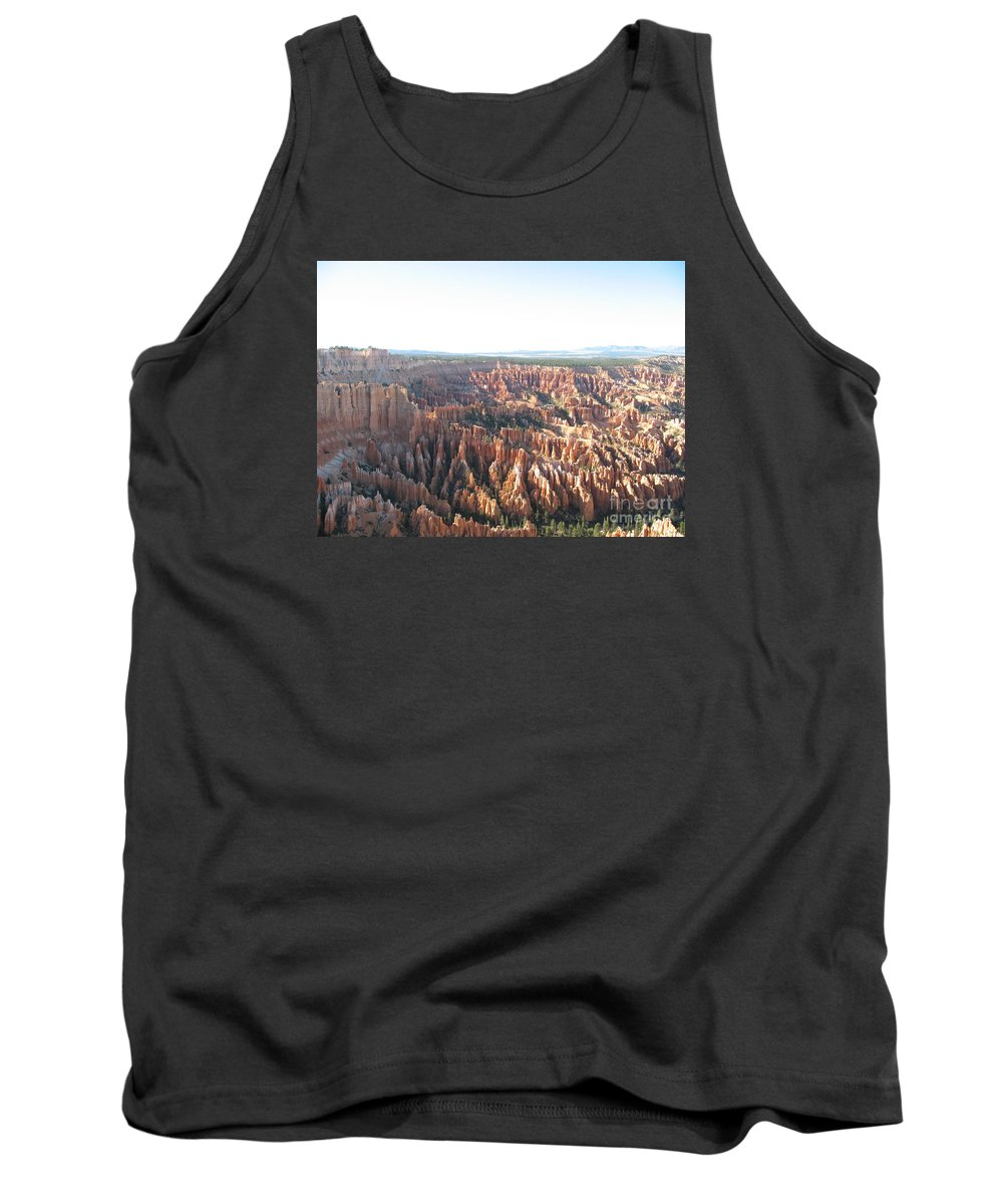 Rocks Tank Top featuring the photograph Bryce Canyon Scenic Overlook by Christiane Schulze Art And Photography