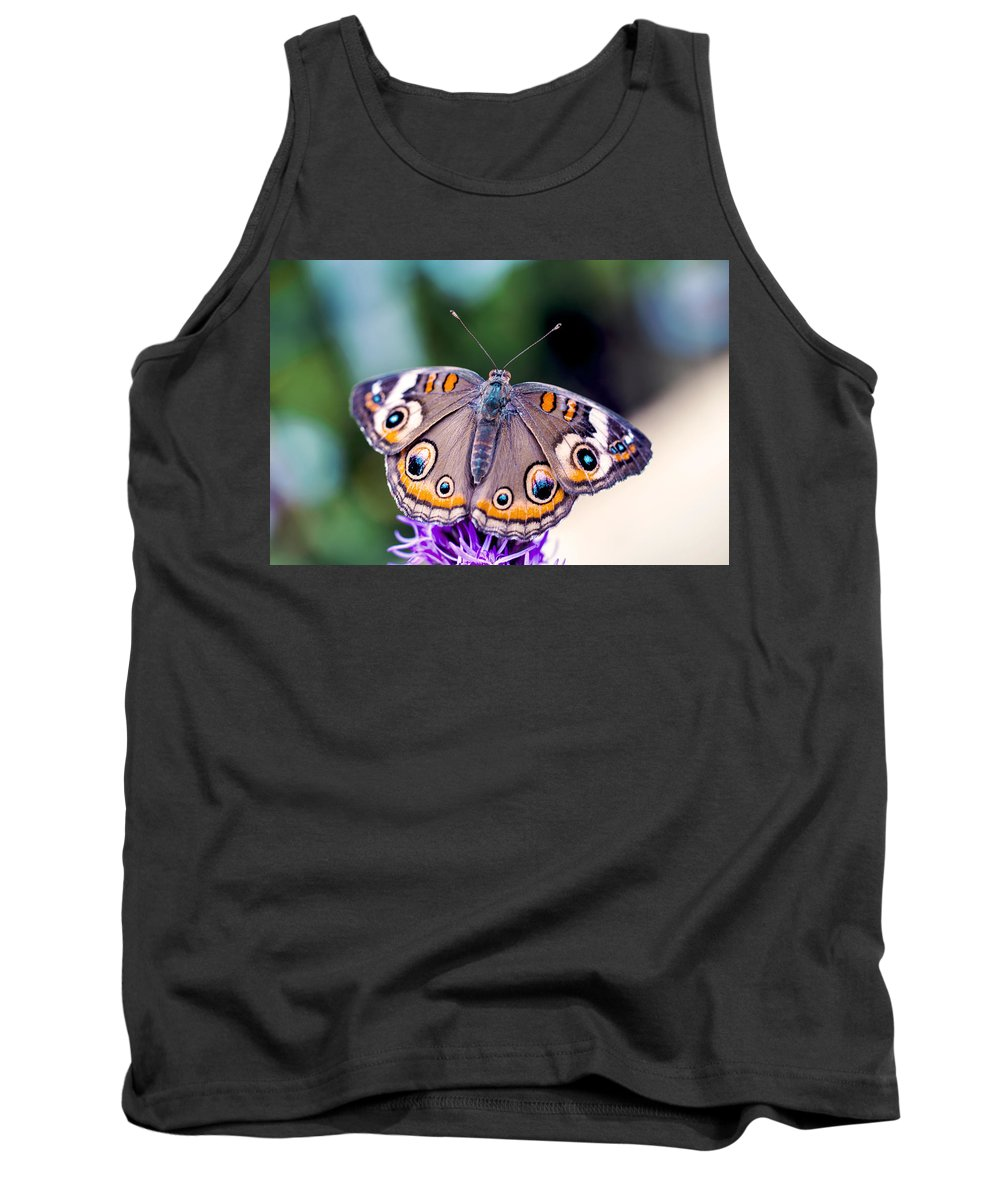 Colorful Tank Top featuring the photograph Buckeye II by Pablo Rosales