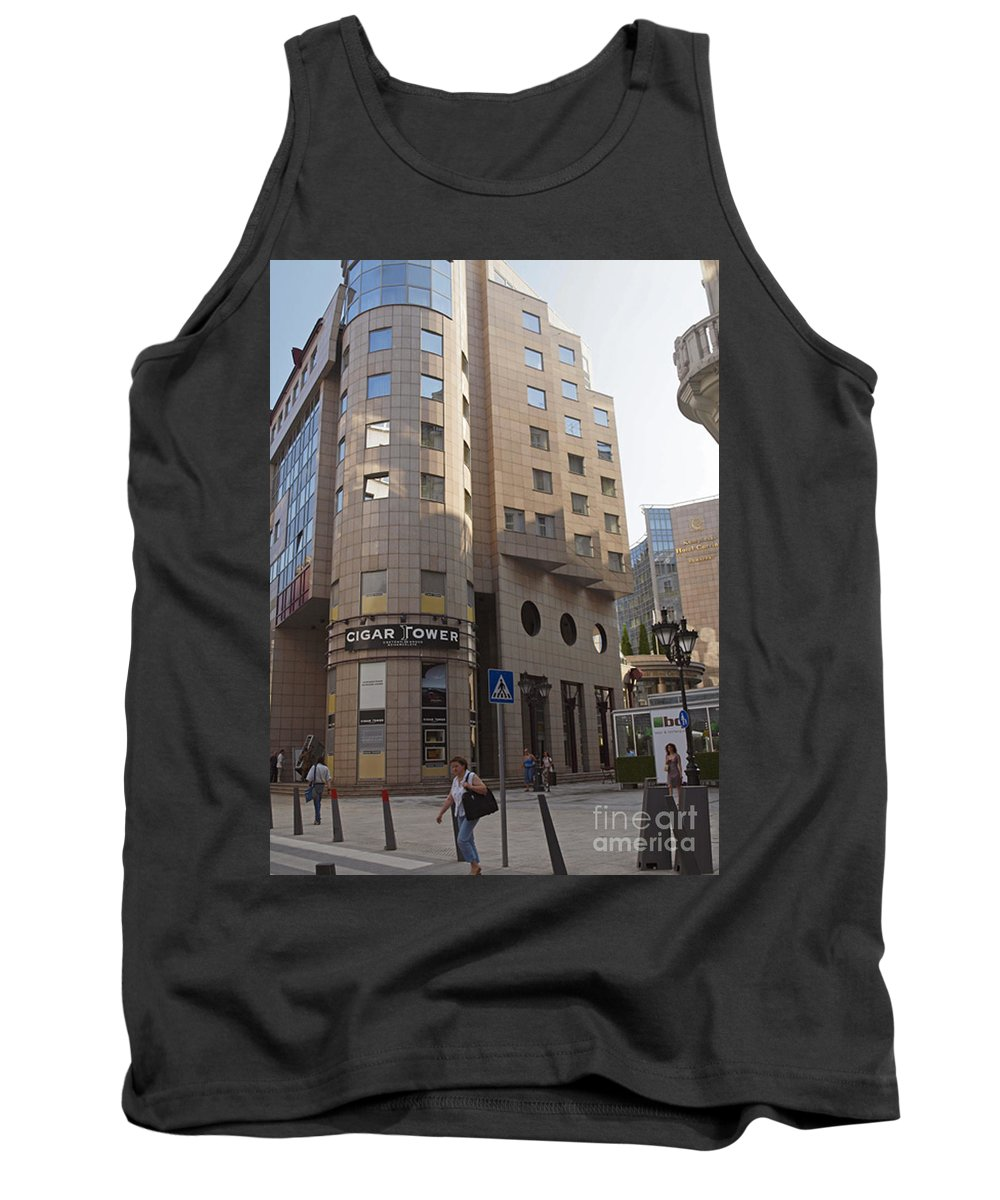 Budapest Hungary Tank Top featuring the photograph Budapest by Howard Stapleton