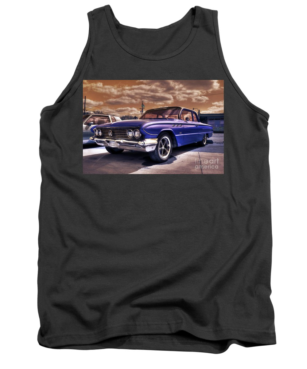 Buick Tank Top featuring the photograph Buick Invicta by Rob Hawkins