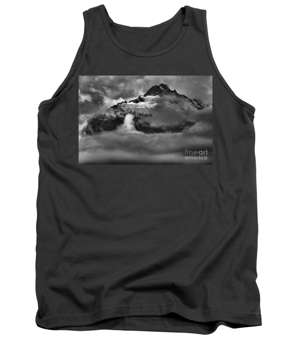 Tantalus Tank Top featuring the photograph Bursting Thrugh The Clouds by Adam Jewell