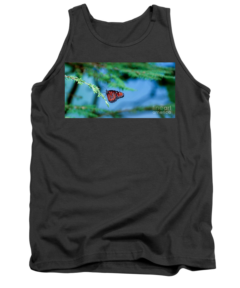 Butterfly Tank Top featuring the photograph Butterfly 1 by Rich Priest