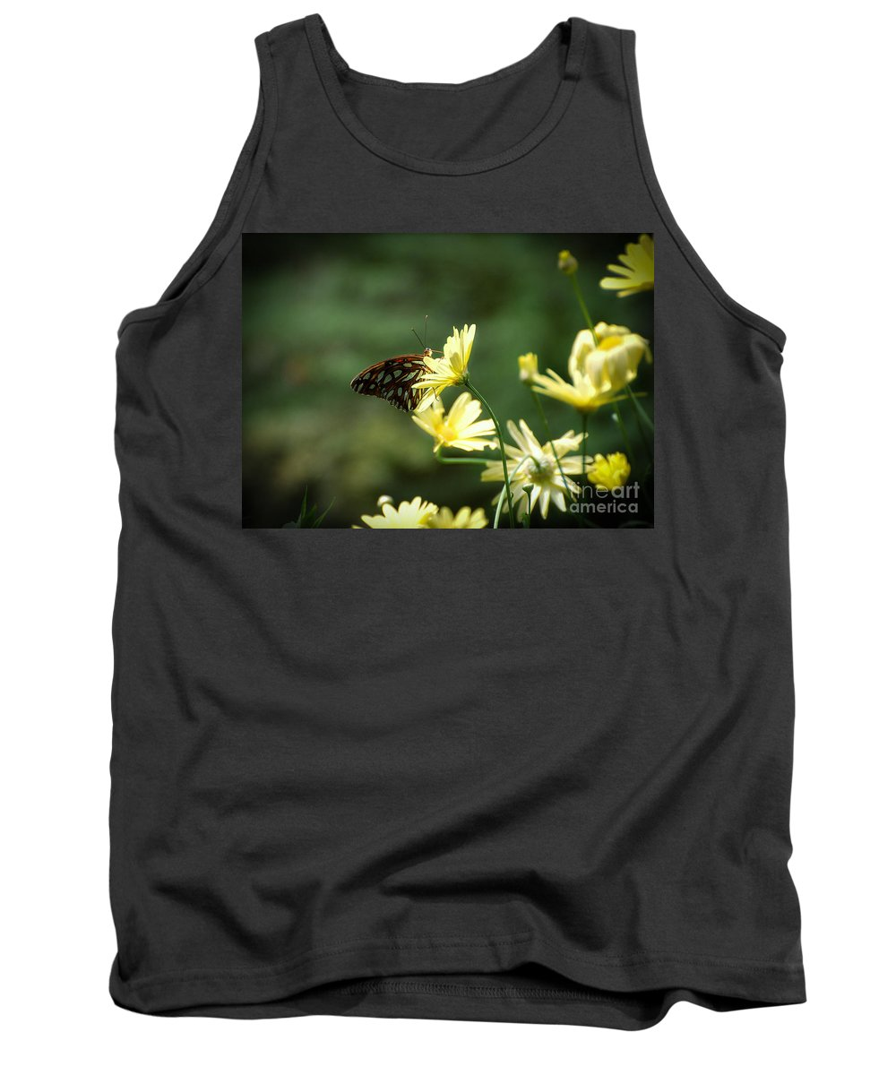 Butterfly Tank Top featuring the photograph Butterfly 3 by Rich Priest