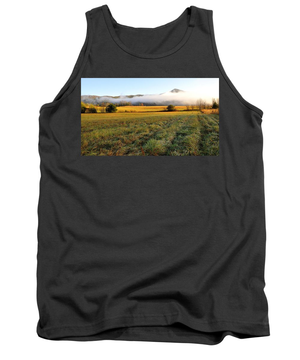 Cades Cove Tank Top featuring the photograph Cades Cove Valley by Todd Hostetter