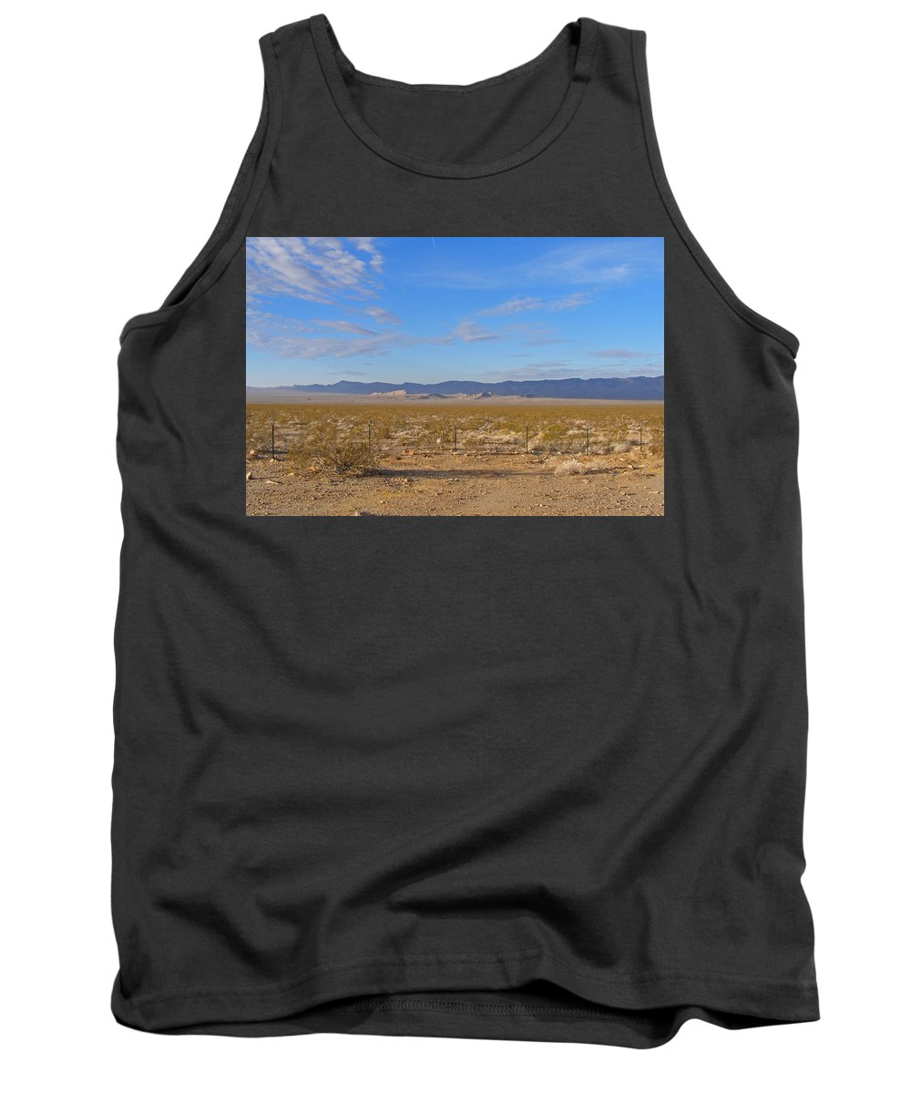 Landscape Tank Top featuring the photograph California by Tikvah's Hope
