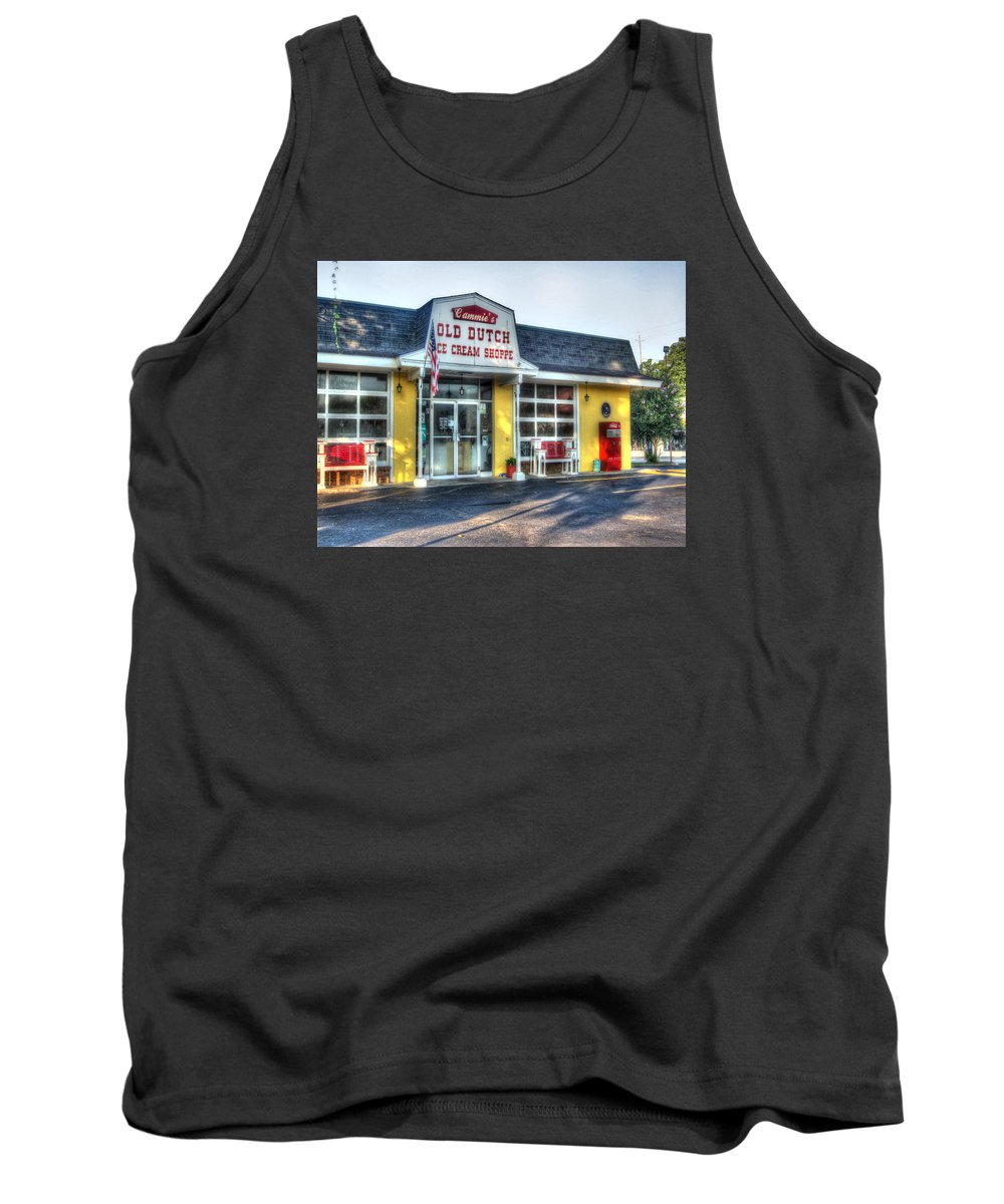 Mobile Tank Top featuring the digital art Cammie's Old Dutch by Michael Thomas