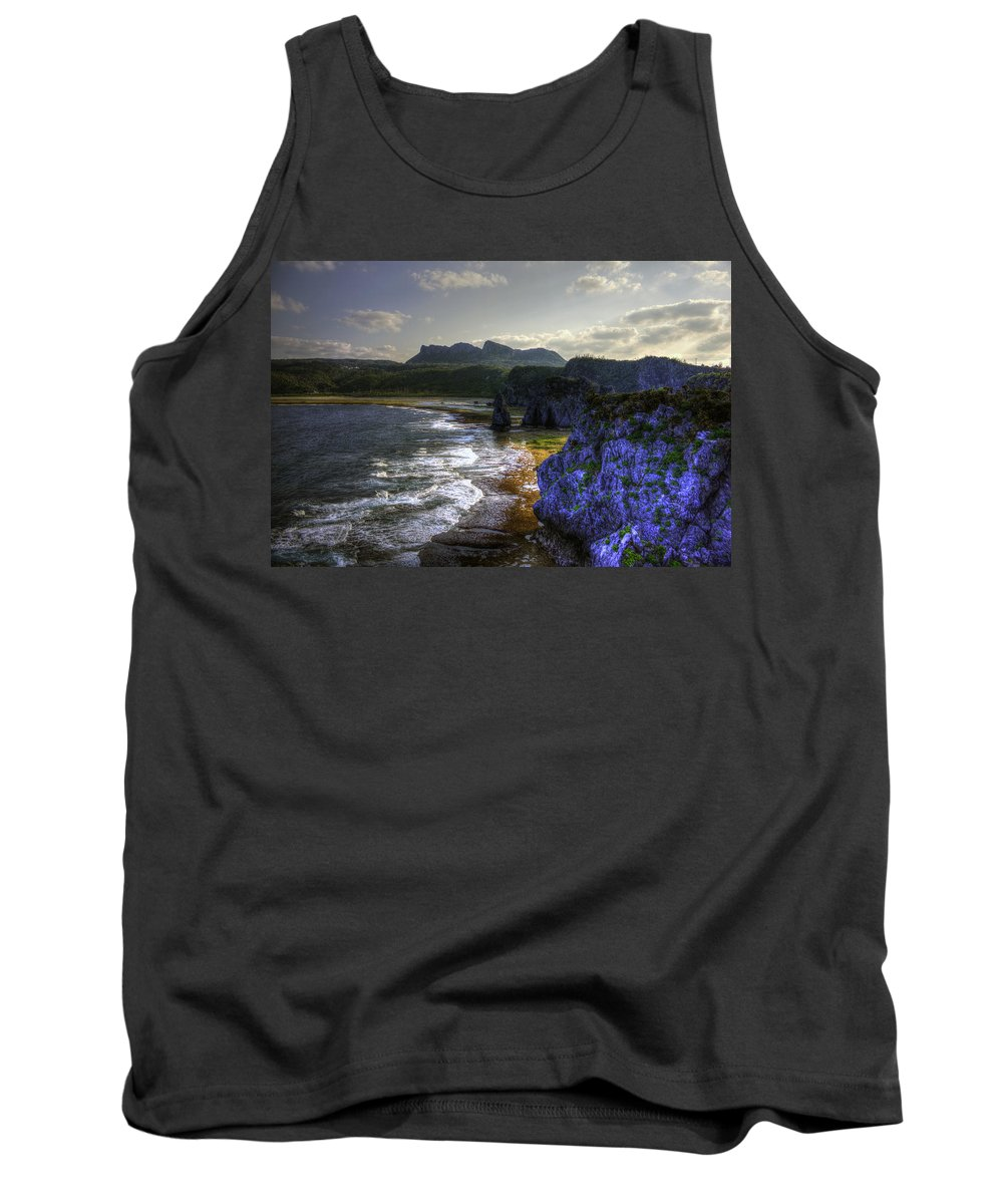 Cape Hedo Hdr Tank Top featuring the photograph Cape Hedo Hdr by Josh Bryant