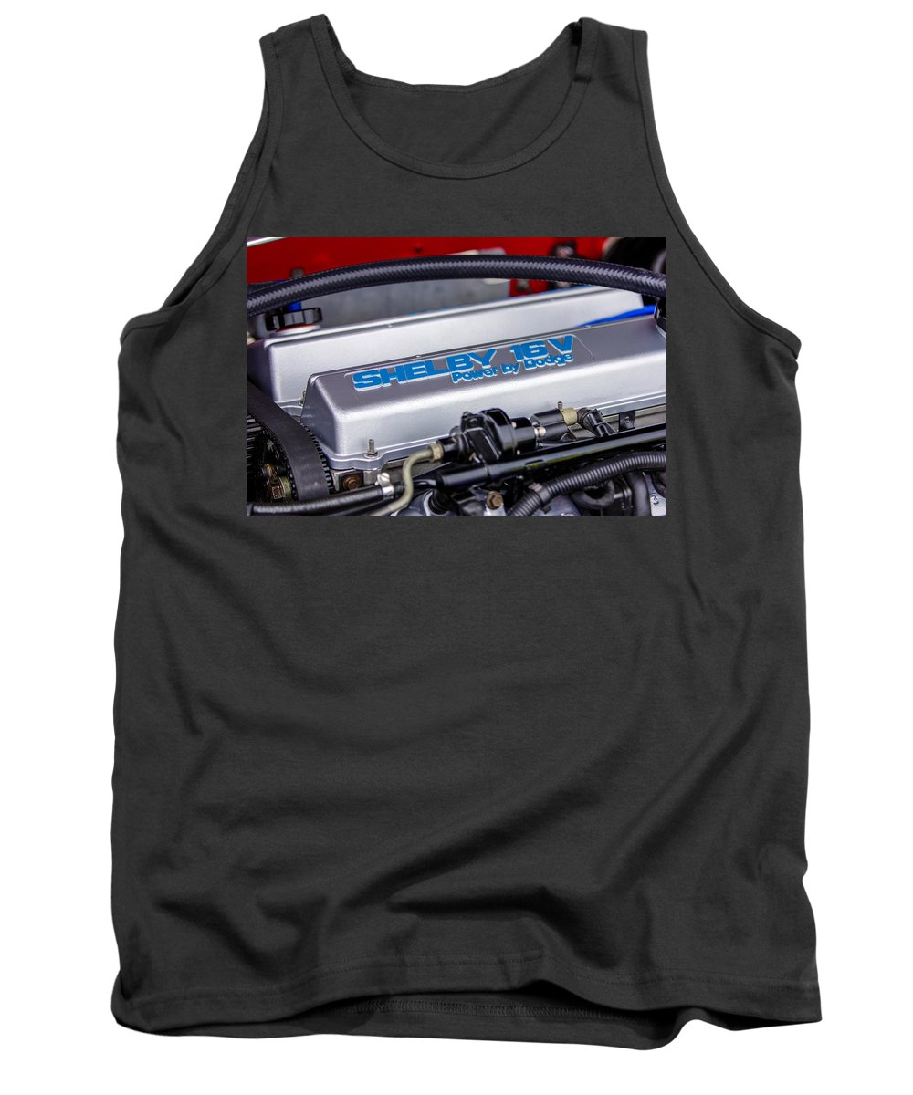 Dodge Shelby Tank Top featuring the photograph Car Show 033 by Josh Bryant