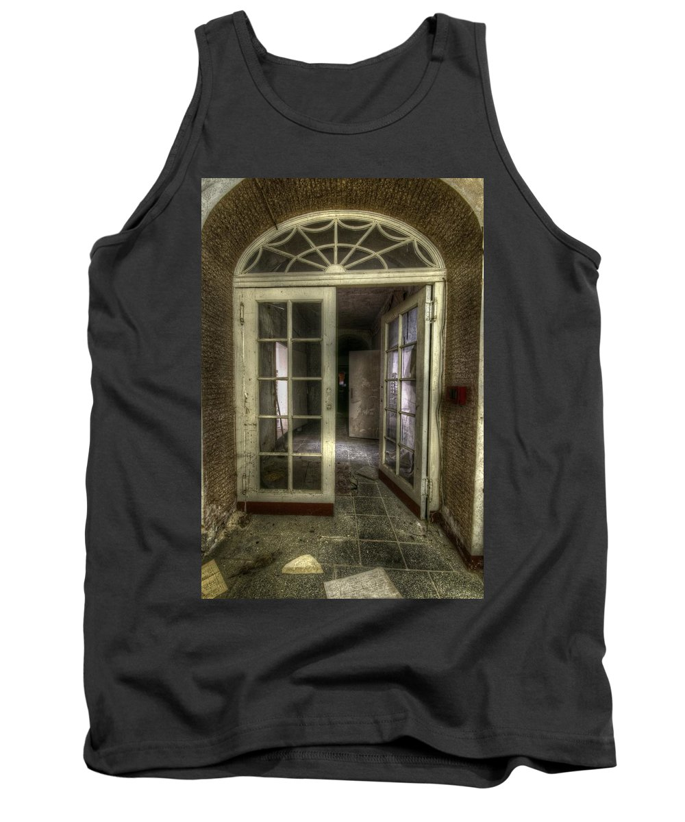 German Tank Top featuring the digital art Care Home Arch by Nathan Wright